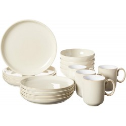 Denby 16pc Linen Dinnerware