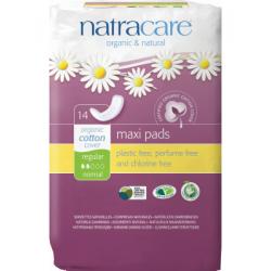 Natracare Organic Pads 14 Ct