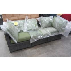 Delaronde 3 Pc  Outdoor Sofa