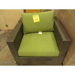 Outdoor Club Chair With...