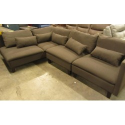 3pc Fabric  Sectional
