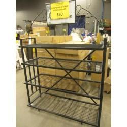 Grapevine 4 Shelf Storage Rack