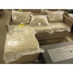 3 Seat Wicker Outdoor Sofa...