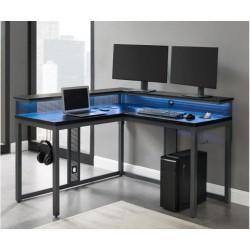 Zeta L-shaped Gaming Desk