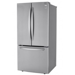"""Lg 33"""" 25.1 Cu Ft French..."""