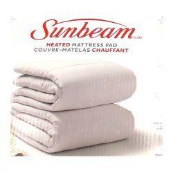 Sunbeam Heated Mattress Pad...