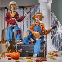 Animated Banjo Skeletons
