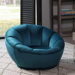 Juvenile Blue  Swivel Chair