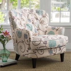 Anne Floral Chair