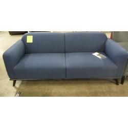 Russell Blue Fabric Sofa