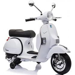 Vespa Scooter 12V White