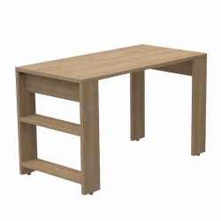 Arlow Brown Desk With Shelves